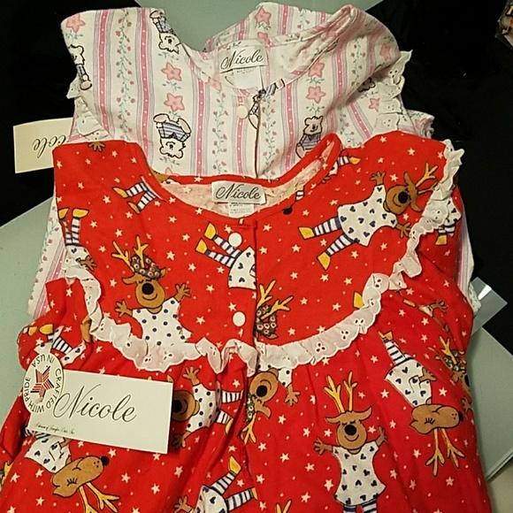 Nicole Intimates & Sleepwear | 2 Granny Night Gowns | Poshmark